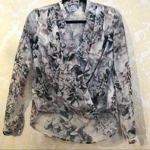 Cute long sleeve blouse
